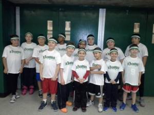 Pulaski Panthers as Jr. Celtics
