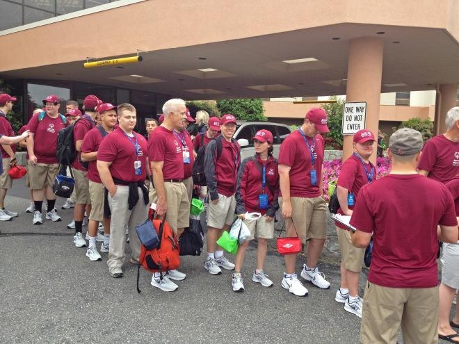 Special Olympics Massachusetts departs from Marlborough.